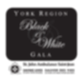 2017 10th Annual Black & White Charity Gala Event by St. John Ambulance, YORK REGION