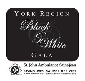 2017 10thAnnual Black & White Charity Gala Event by St. John Ambulance, YORK REGION