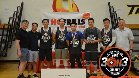GOLD #3x3 #Basketball Tournament | St. John Ambulance York Region