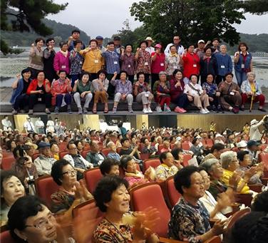 재가노인지원사업 제천 문화체험