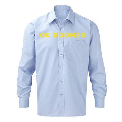 OK BOOMER Shirt / Baby Blue