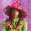Thumbnail: Adriana Hot Couture faux fur hat with leopard lining
