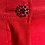 Thumbnail: Adriana Hot Couture satin ruffle shorts with rhinestone button