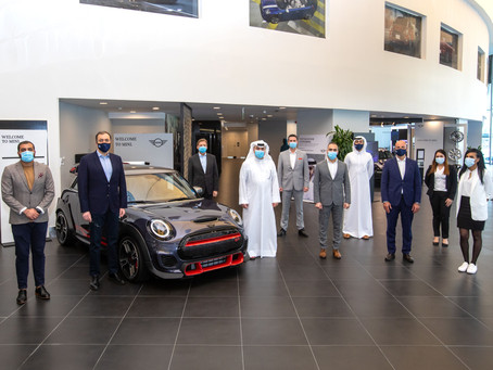 Alfardan Automobiles Wins Three Iconic Awards at the 2019 MINI Middle East Dealer Competition Awards