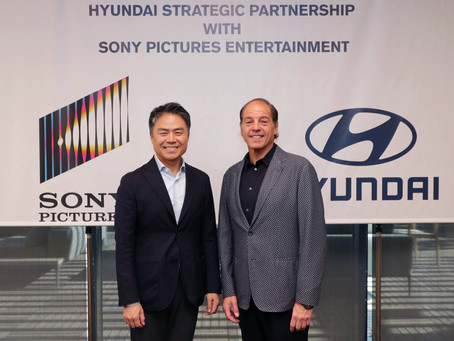 Hyundai Motor and Sony Pictures Entertainment Announce Unique Partnership