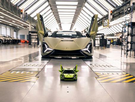 Automobili Lamborghini and the LEGO Group recreate the Lamborghini Sián FKP 37
