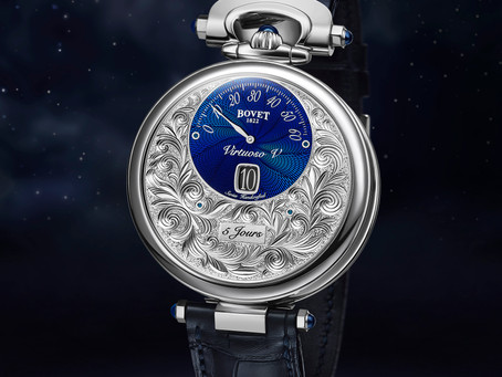 Amadéo Fleurier Complications-Virtuoso V Jumping hours, retrograde minutes and reversed hand-fitting