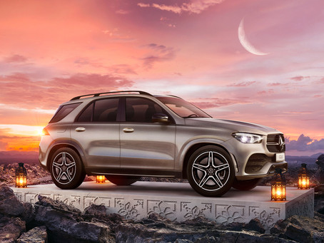 Mercedes-Benz GLE .. Make the Best of Every Ground