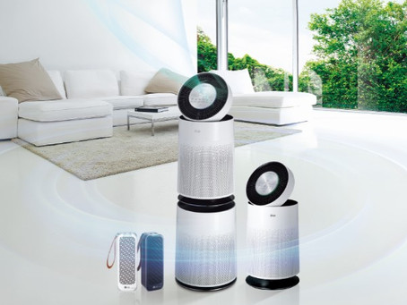 LG - AIR PURIFIERS EFFECTIVELY IMPROVE INDOOR AIR QUALITY FOR ASTHMA AND ALLERGY SUFFERERS