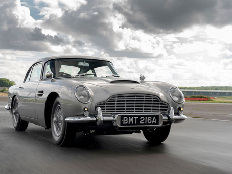 Making history: the first new DB5 in more than 50 years rolls off the line
