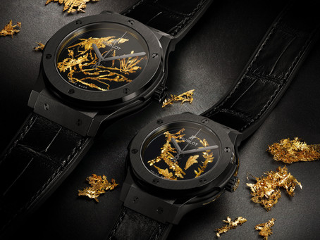 HUBLOT - CLASSIC FUSION GOLD CRYSTAL