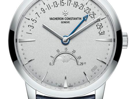 Vacheron Constantin - Patrimony moon phase retrograde date Collection Excellence Platine