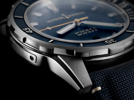 THE NEXT WAVE!  Smaller but bolder: Ulysse Nardin launches its new Diver timepieces in 42 mm!
