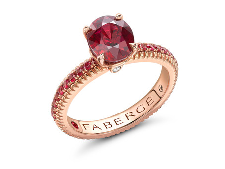 Fabergé Celebrates July's Birthstone: Ruby