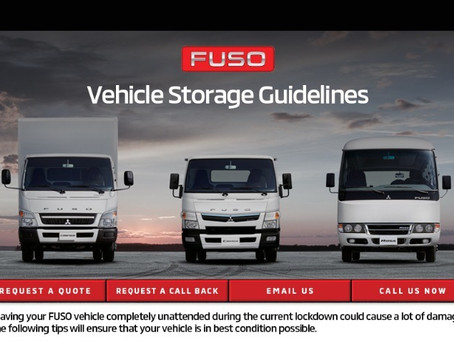 Qatar Automobiles Company shares FUSO tips to maintain unattended vehicles during the lockdown