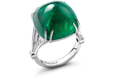 Fabergé Spotlights May's Birthstone, Emerald