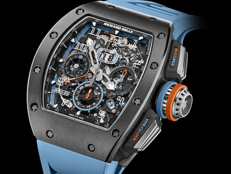 Richard Mille -GREY CERMET MAKES AN APPEARANCE IN THE NEW RM 11-05 AUTOMATIC FLYBACK CHRONOGRAPH GMT