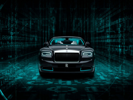 Rolls-Royce - THE WRAITH KRYPTOS COLLECTION A LABYRINTH OF COMPLEX CIPHERS