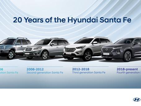 Two decades of the Hyundai Santa Fe: Evolution of an Automotive Icon