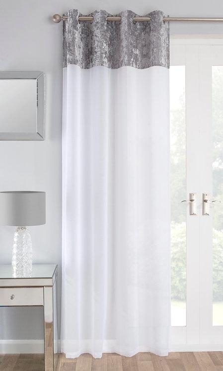 Tyrone Textiles - Liberty Silver (Grey) Voile Panel