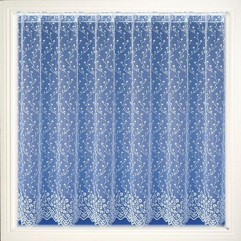 Tyrone Textiles - Sarah White Open Top Voile