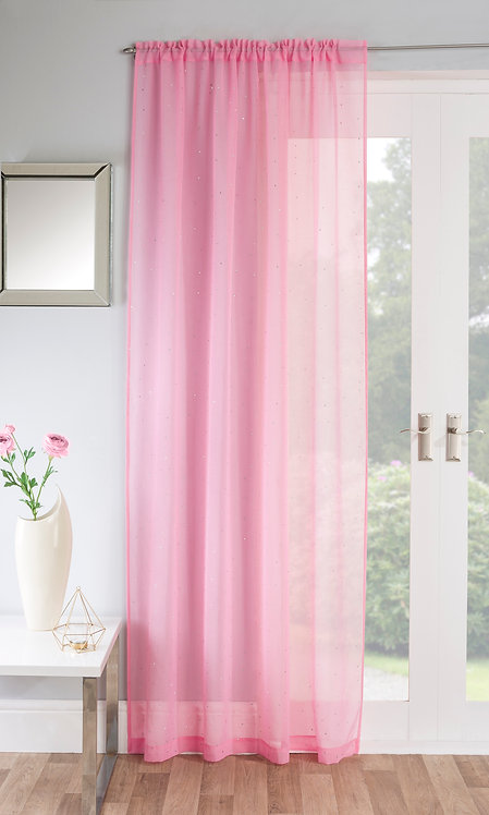 Tyrone Textiles - Jewel Pink Voile Panel