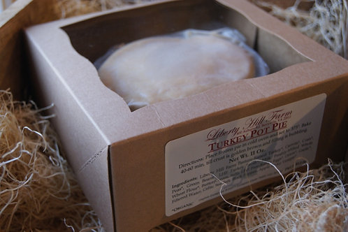 Small Turkey Pot Pie