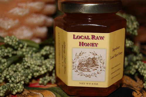 Plain Raw Honey