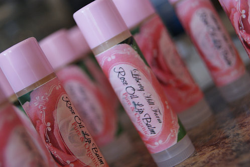 Rose Oil Lip Balm