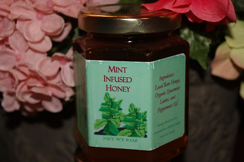 Mint Infused Honey