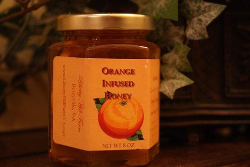 Orange Infused Honey