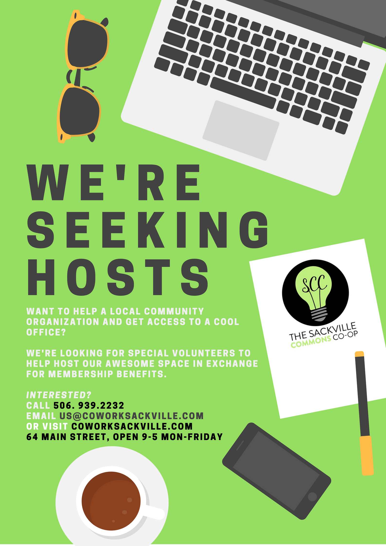 Hosts Wanted!