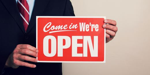 We will reopen Friday!