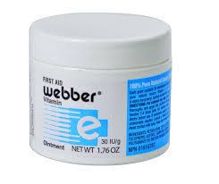 Webbers Vitamin E Ointment