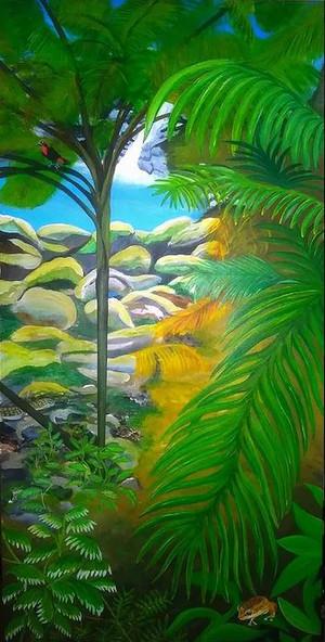 The Jungle of PR. Acrylic: 24x 40