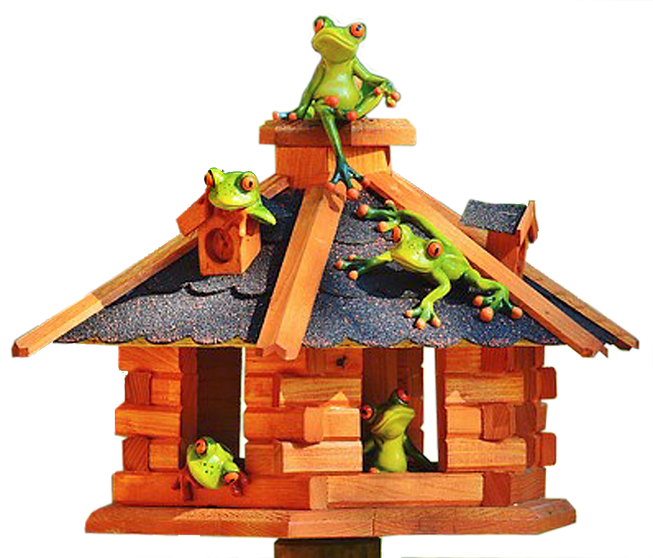 Frogs on birdhouse.png