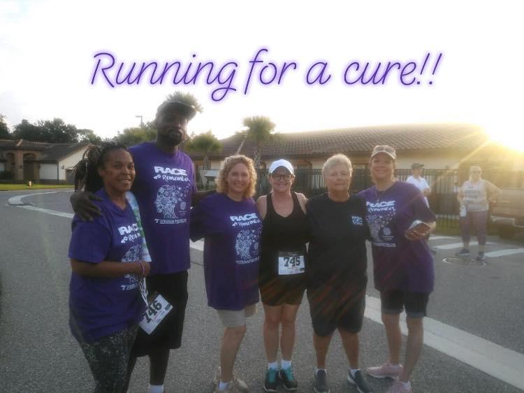 Alzheimers charity run