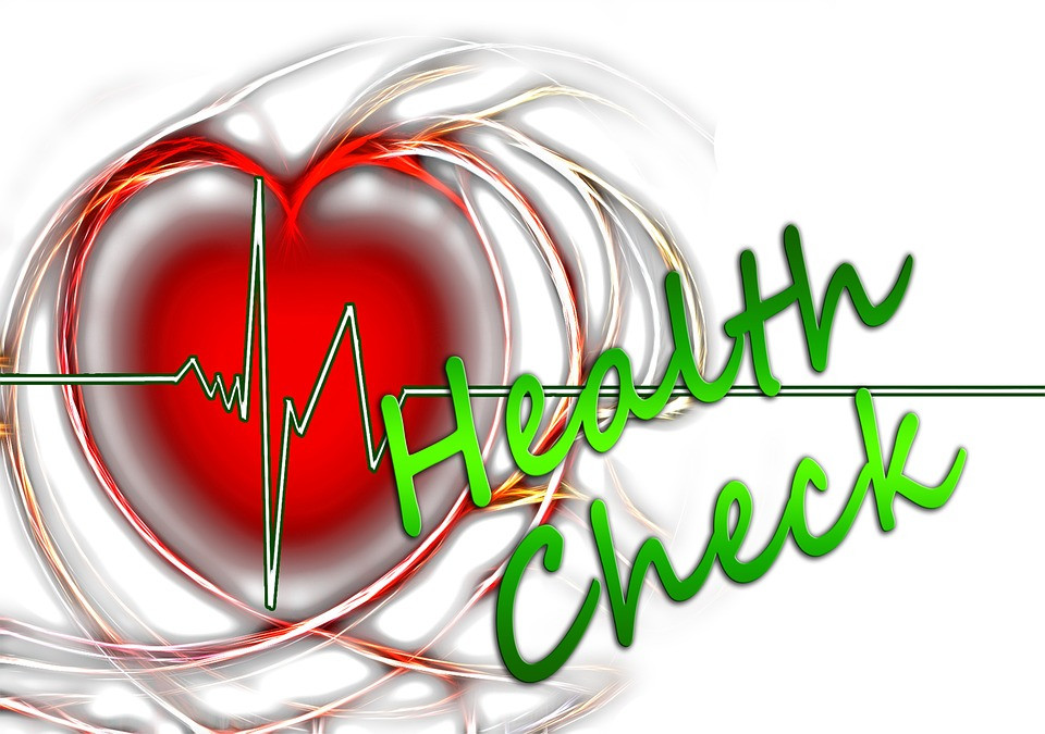 heart beat that says health check