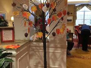 Gratitude Tree for Thanksgiving Celebrations