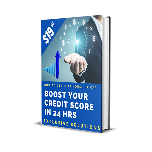 Boost Your Credit Score In 24 Hrs