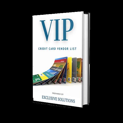 VIP Vendor List