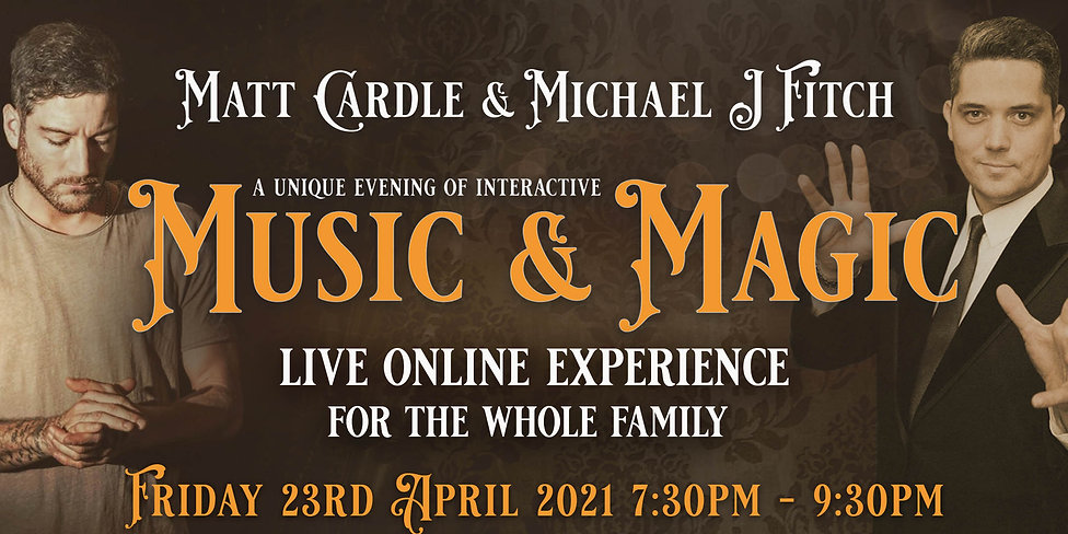 Music & Magic - Event Bright Banner (216