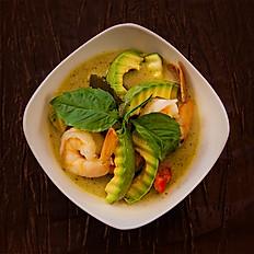 39. Green Curry Avocado
