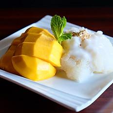 Sweet Sticky rice and Mango