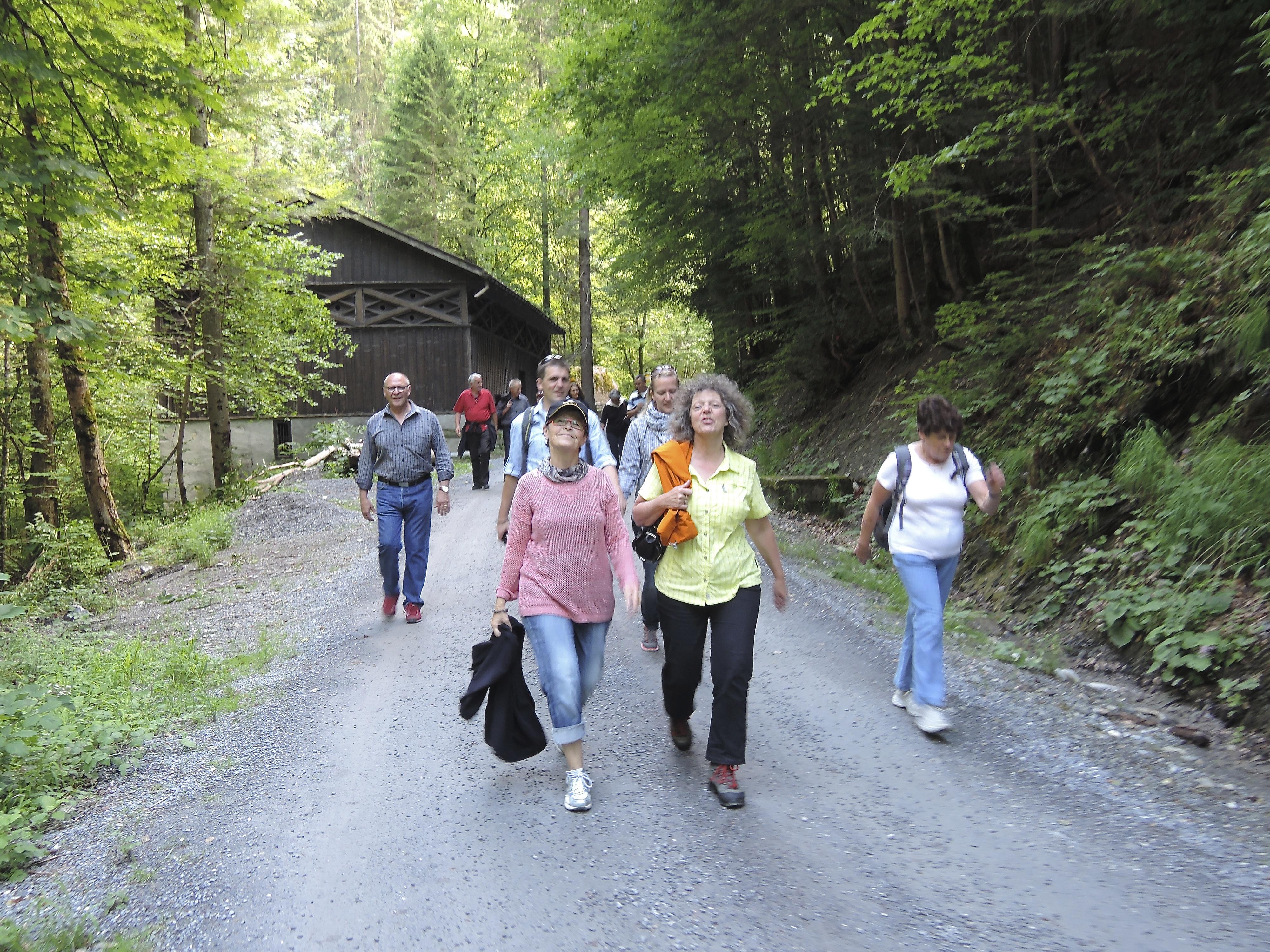 Jodlerreise mit Pontonierfahrverein Worblaufen 2014 (1)