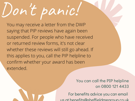 Received a letter from the DWP? Don't panic!