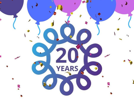 Our charity is turning 20!