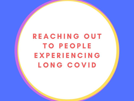 Reaching out to Long Covid sufferers