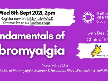 ONLINE TALK: Fundamentals of Fibromyalgia