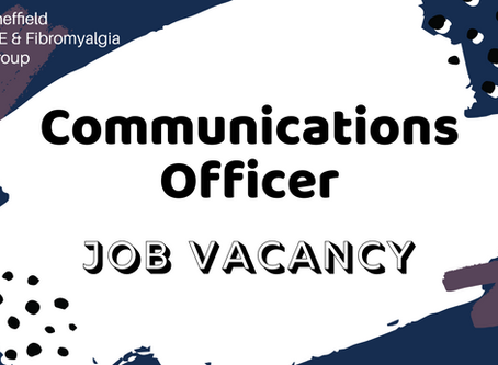 We're hiring a communications officer. Apply now!